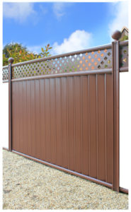 Fence brown_trellis