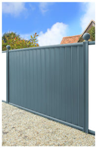 Fence-panel-blue