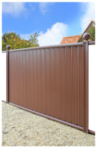Fence-panel-brown