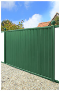 Fence-panel-green