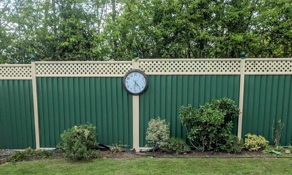 Metal garden fencing in Mildenhall gallery shot3