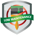 Low Maintenance Garden Solutions Badge