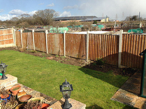 Old Wooden Fence to Be Replaced