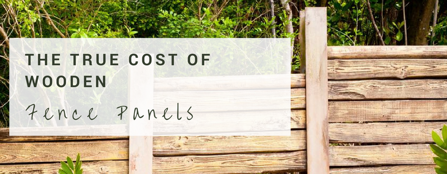 true cost of wooden fencing