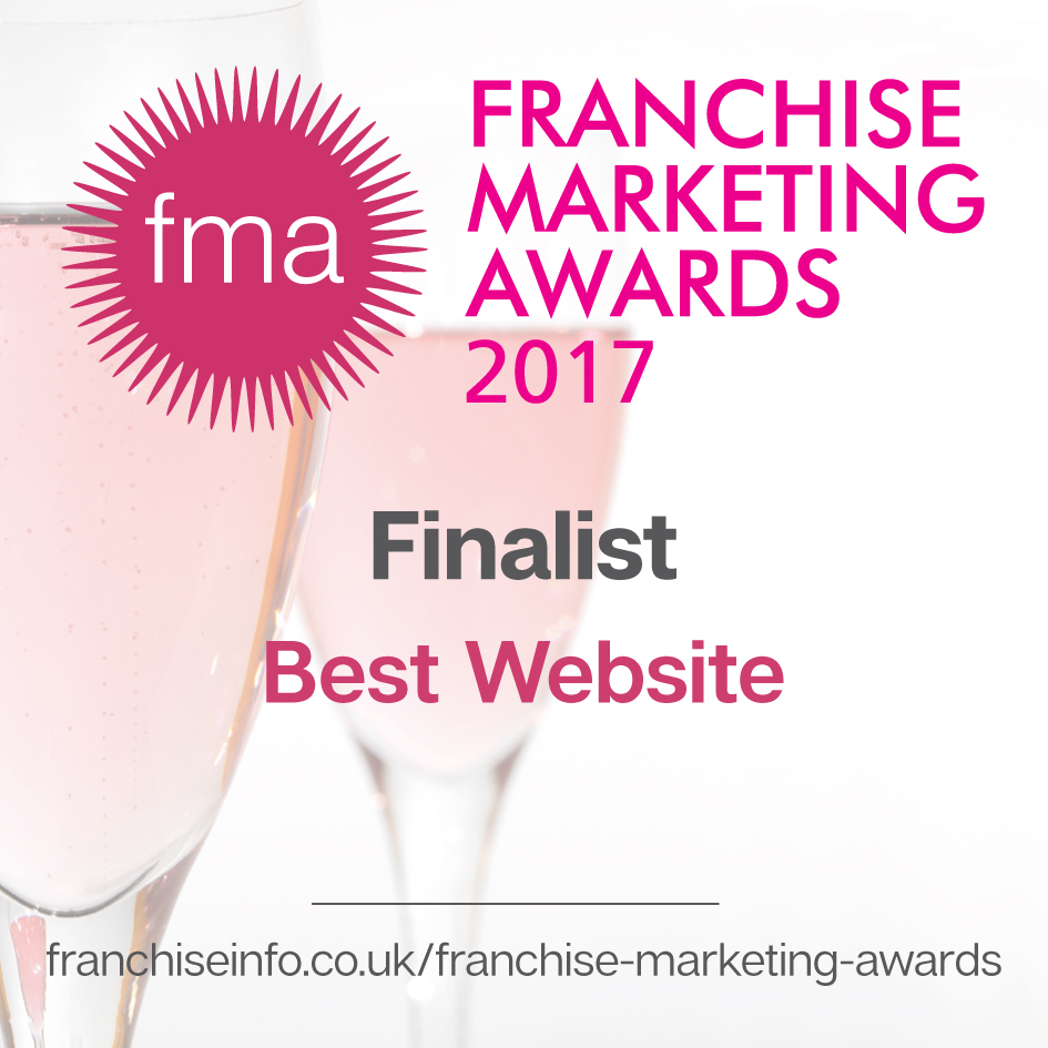 Best Website Finalist in the Franchise Marketing awards 2017