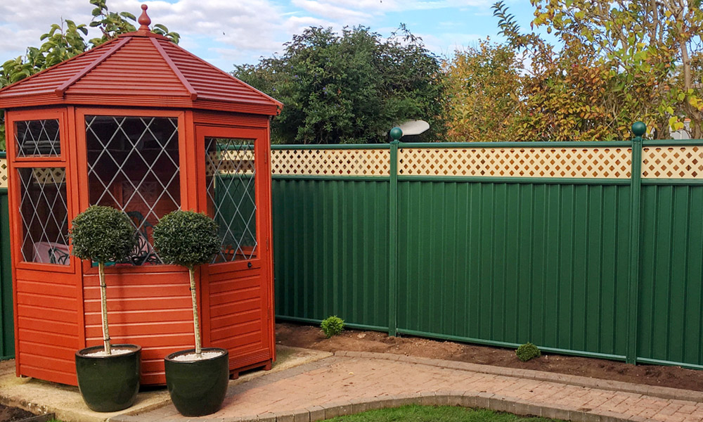 ColourFence, ColourRail, ColourGates, ColourShed Product Gallery