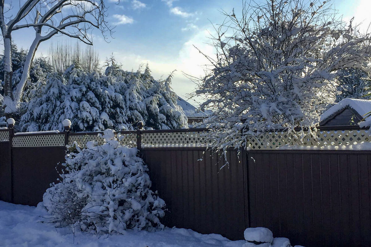 How to Make Sure Your Garden Fence Survives the Snow