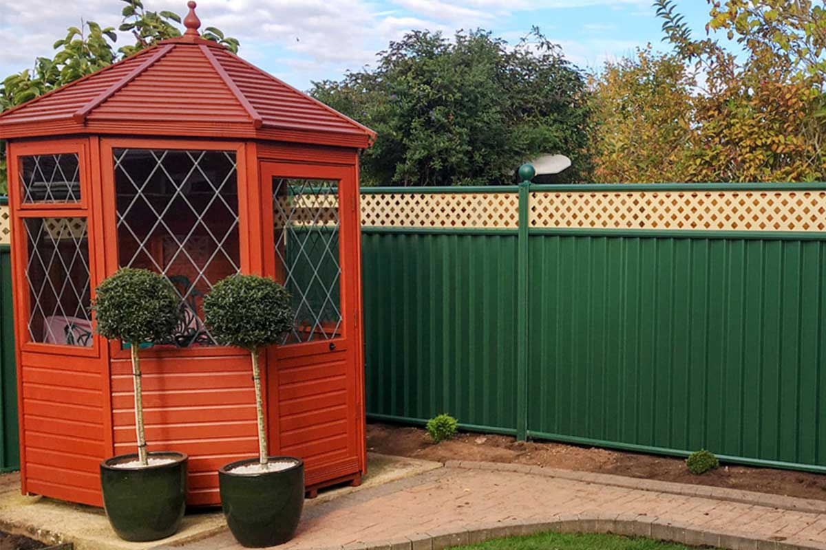 ColourFence; the Modern Garden Fencing Solution