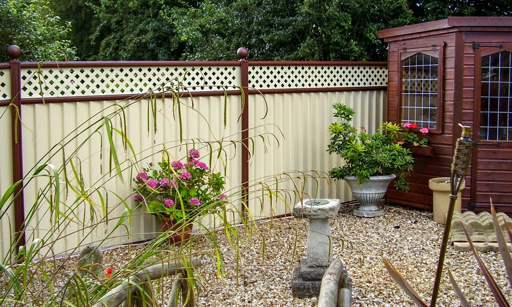 Metal garden fencing in Glastonbury gallery shot1