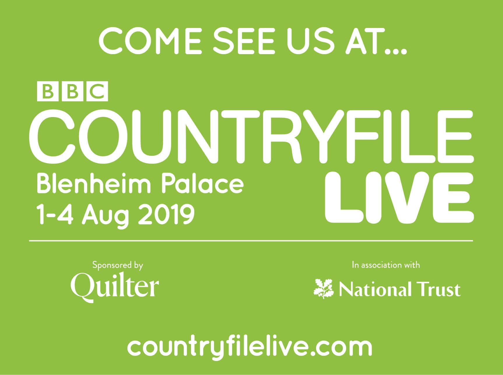 Garden fencing manufacturer at CountryFile Live exhibition in Blenheim Palace