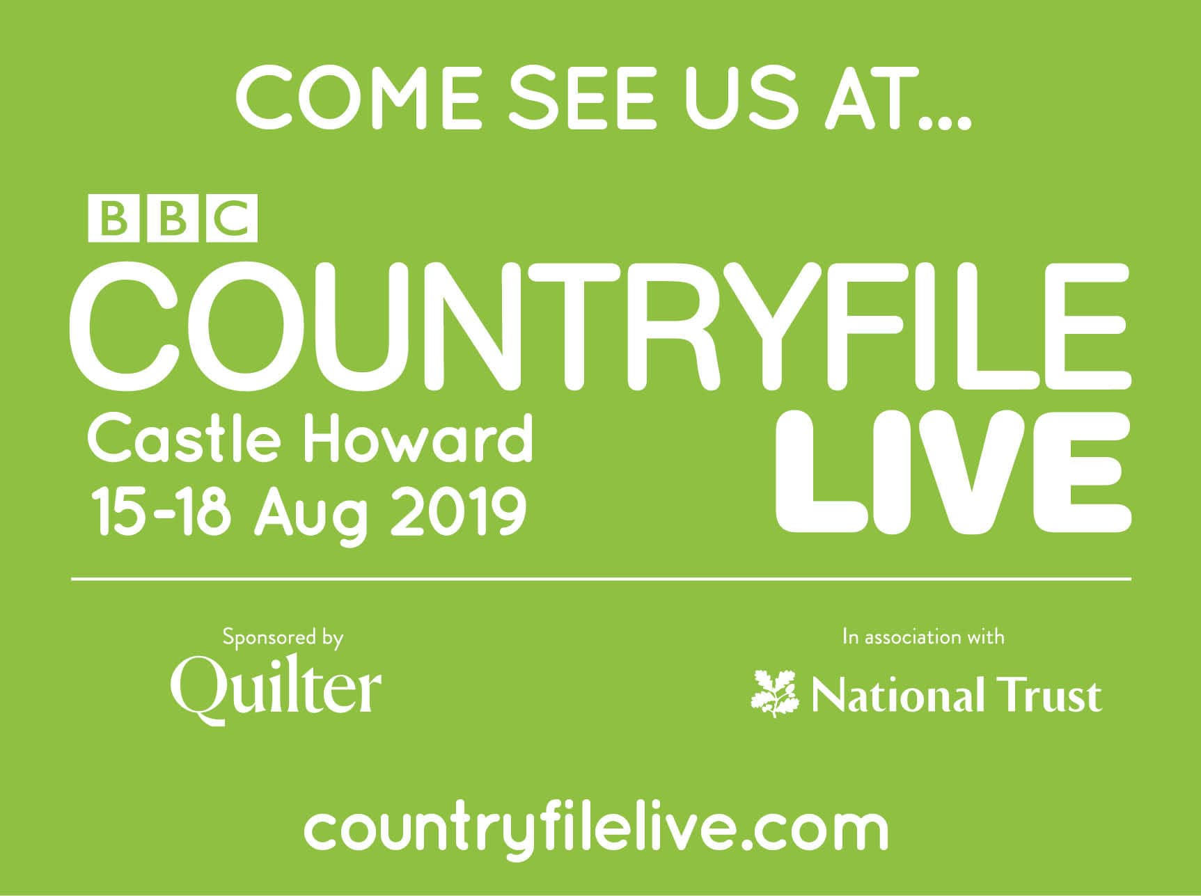 Garden fencing manufacturer at CountryFile Live exhibition in Castle Howard