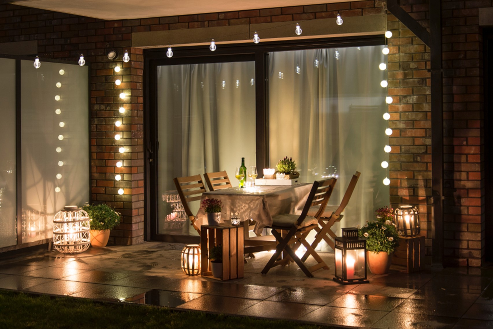 Simple Garden Lighting Options that you can do this Weekend